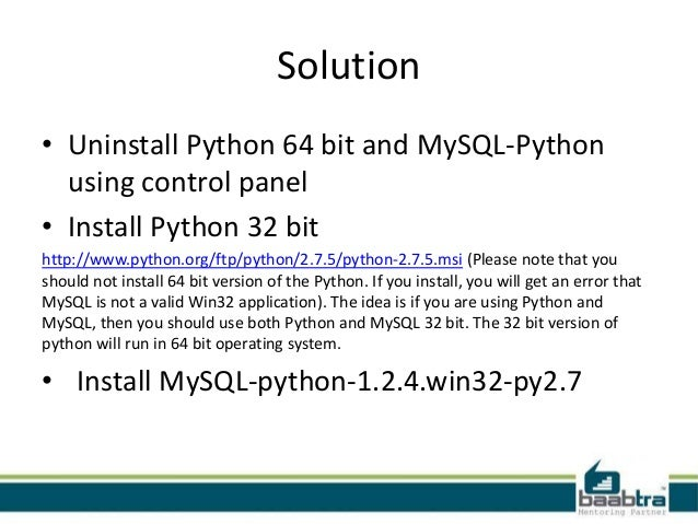python 1 is not a valid win32 application