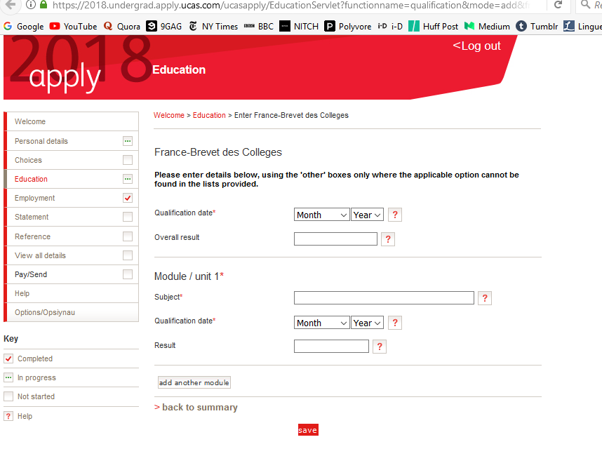 ucas application for overseas students