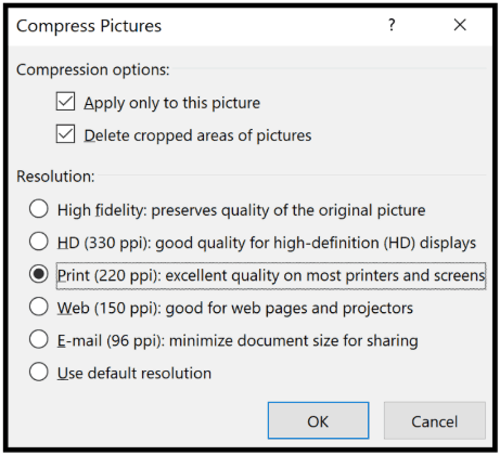 powerpoint to pdf file size