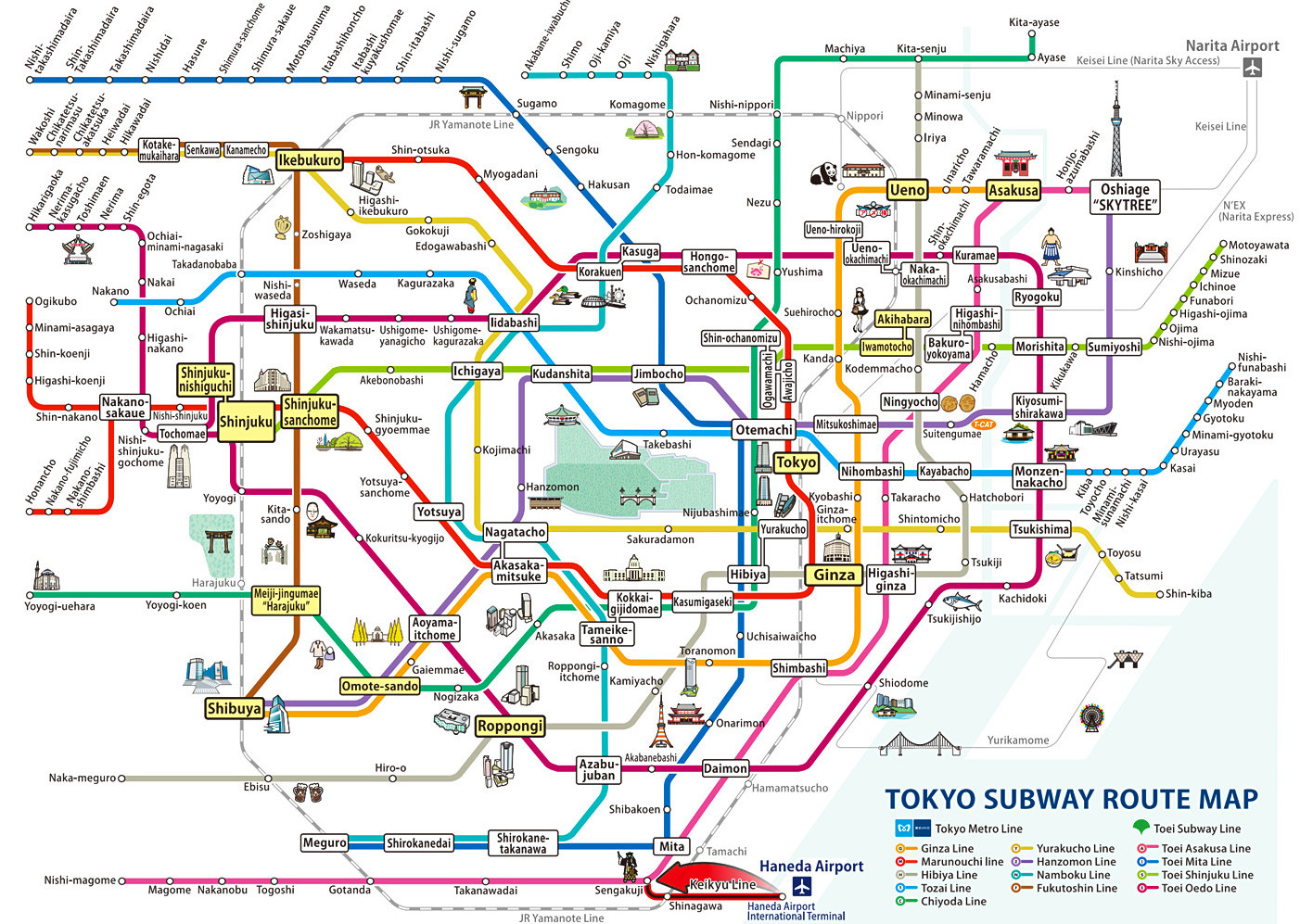 japan guide tokyo wide pass
