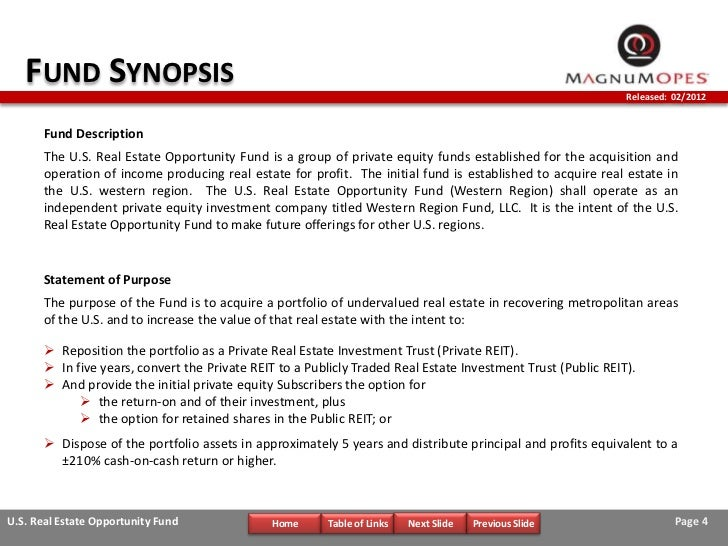 private equity investment memo pdf