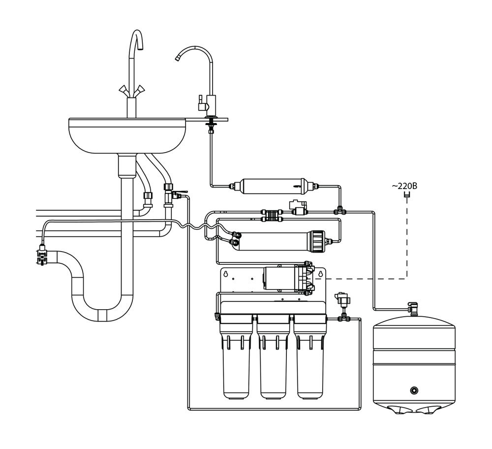 ro water purifier installation guide