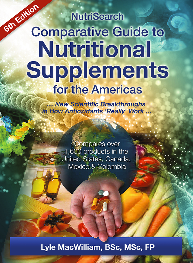 nutrisearch comparative guide to nutritional supplements 2018