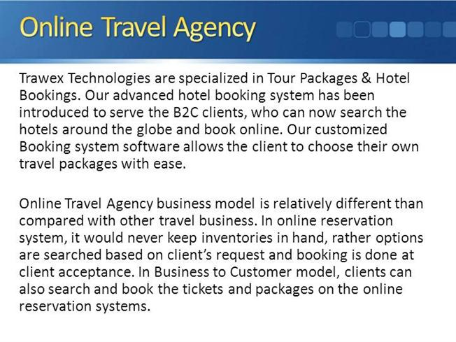 online travel agency business plan pdf