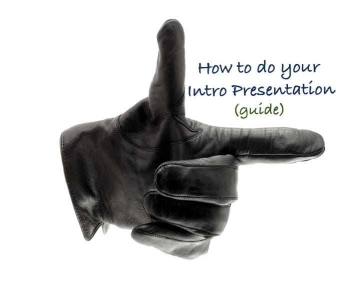 shss guide to presentation of assignment