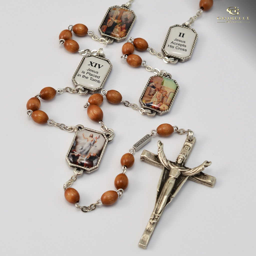 stations of the cross rosary pdf